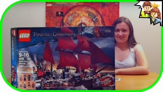 LEGO Pirates of the Caribbean Queen Anne's Revenge 4195 Review