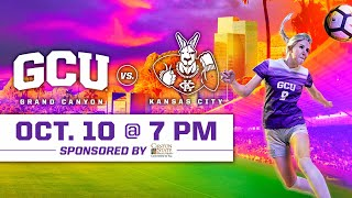 GCU Women's Soccer vs Kansas City October 10, 2019