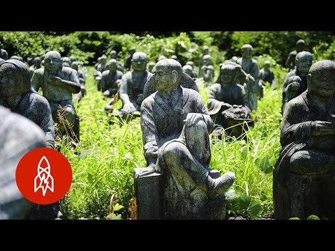The Hidden Sculpture Garden in Japan
