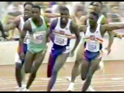Men's 4x100m Relay - 1992 Olympic Games