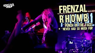 FRENZAL RHOMB - Punch in the Face + Never Had so Much Fun @ Paris, France [HQ LIVE]