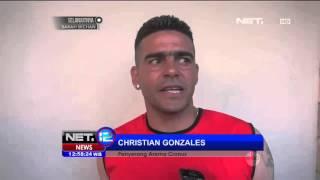 Penampilan Gonzales Kian Gemilang Di Klub Arema  NET12