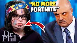 Dr. Phil ROASTS Crazy Fortnite Addicted Kid