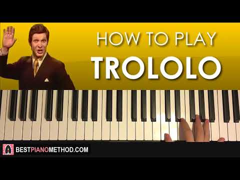 HOW TO PLAY - Trololo Song (Piano Tutorial Lesson)
