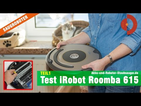 iRobot Roomba 615 / 616 Test Teil1