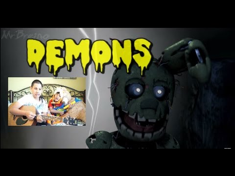 FNAF ANIMATION SONG MY DEMONS: MRBREINO [SFM/FNAF/Music] Reaction Video