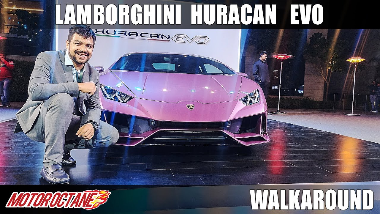 Motoroctane Youtube Video - Lamborghini Huracan EVO - Hindi | MotorOctane