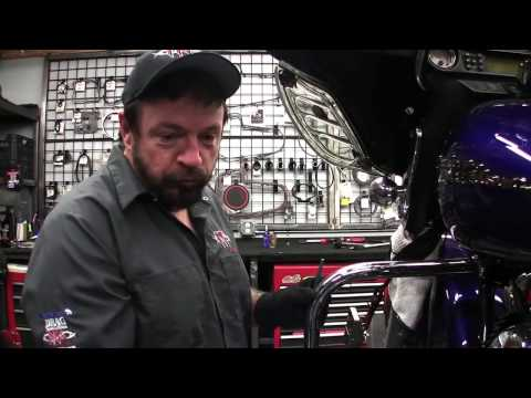 MGS Custom Bikes Installs A Glide Pro Motorcycle Stabilizing System