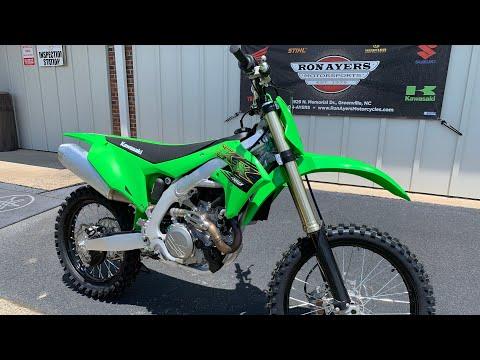 2020 Kawasaki KX 450 in Greenville, North Carolina - Video 1