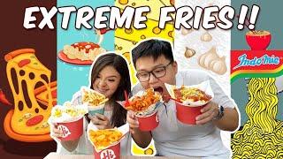 French Fries Indomie Goreng VS Spaghetti !! Enak Mana ??