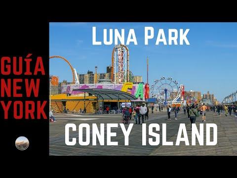 Coney Island,Luna Park parque de diversiones. Guía de New York