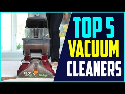 6 Best Vacuum Cleaners 2018