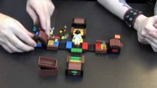 Toy Brief 47 : Pirate Code LEGO Game Set 3840 Opening Building Review Play