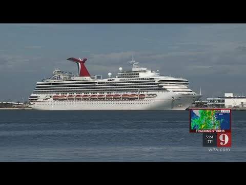 92f8ba48941 Video   Falling out of my seat   Carnival ship tilts at sea after leaving  Port Canaveral