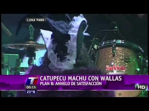 Catupecu Machu. Plan B. Luna Park 2011 con Massacre
