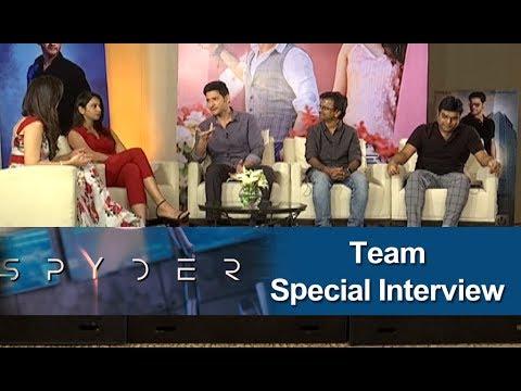 SPYder Team Special Interview at Dussehra