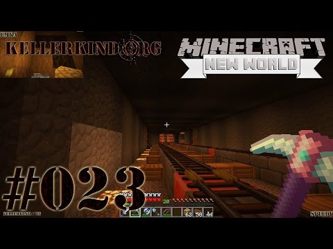Minecraft: A New World #23 – Bahnstrecke in den Tod!★ Let's Play Minecraft SMP [HD|60FPS]