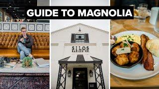 Visiting Magnolia // Food, Shopping, And More!  // TRAVEL VLOG