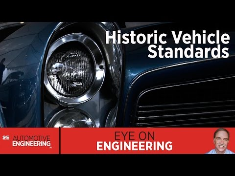 SAE Eye on Engineering: Historic Vehicle Standards