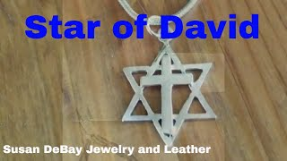 How to Make a Star of David Silver Pendant