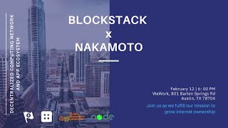 Muneeb Ali: Blockstack: Stacking, a new breakthrough consensus algorithm powered by BTC
