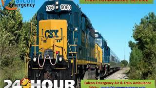 Get Life-Support Train Ambulance from Patna to Delhi at Minimal Cost