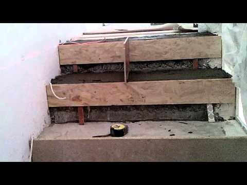 1 Облицовка лестницы плиткой просто