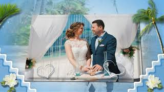Наша свадьба в Доминикане#Our wedding in the Dominican Republic # Project Proshow Producer