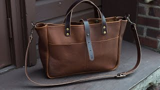 Buchanan Leather Tote Bag | Go Forth Goods