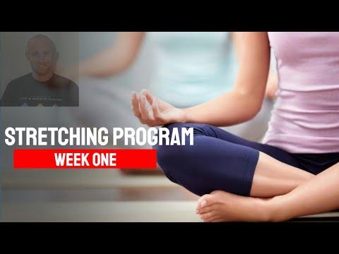 Online Stretching Program: Week One