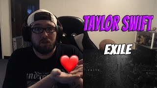 ROCK FAN REACTS to Taylor Swift - Exile (feat Bon Iver) Reaction! WE NEED TO COMMUNICATE MORE!