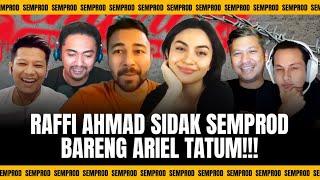 SEMPROD: GADING & UUS SALTING KEDATANGAN ARIEL TATUM !! ANDHIKA & BORIS SHOCK DISIDAK RAFFI AHMAD !!