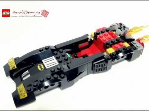 Vidéo LEGO DC Comics Super Heroes 6864 : La poursuite de Double-Face en Batmobile