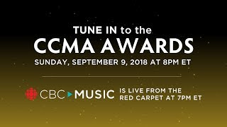 Watch The 2018 CCMA Awards & Red Carpet Show