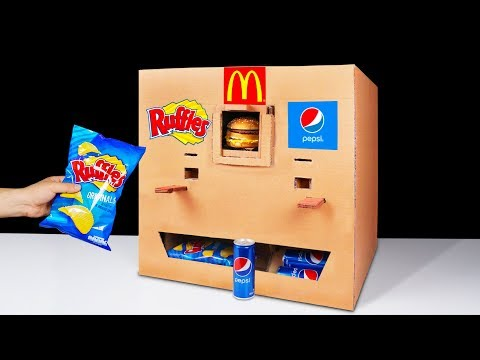 How to Make Ruffles McDonald's and Pepsi Vending Machine