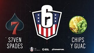 S7ven Spades vs. Chips y Guac   Rainbow Six: US Nationals - 2019   Stage 2   Week 3   Eastern Confer