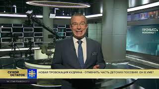 Юрий Пронько: Новая провокация Кудрина - отменить часть детских пособий. Он в уме?