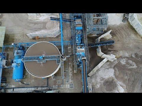 Float Glass Grade Silica Sand Washing Plant Vietnam