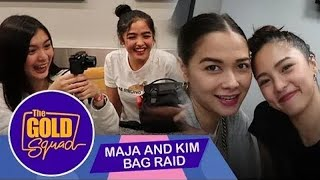 BINAG RAID SI ATE KIM AND ATE MAJA SA AMERIKA NG FRANDREA | The Gold Squad