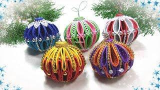 🎄 Игрушки на елку своими руками из фоамирана  🎄 Diy Christmas Ornaments Foam EVA