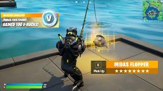 NEW Fortnite Midas Fish Update
