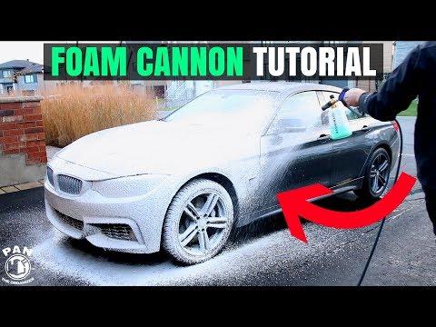 FOAM CANNON CAR WASH TUTORIAL !! (+GIVEAWAY!!)
