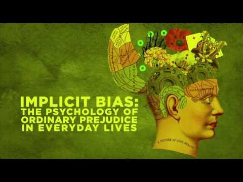 Bias types psychology study