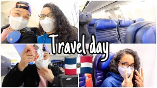 FLYING TO DOMINICAN REPUBLIC - Travel day