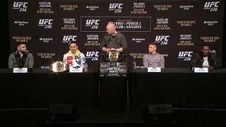 UFC 236: Полная пресс-конференция