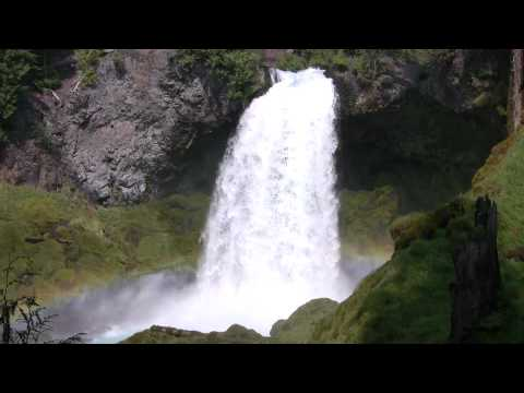 Very Relaxing 3 Hour Video Of LARGE Waterfall Mp3