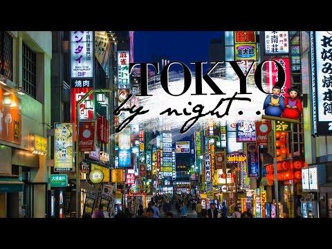 Tokyo by night !