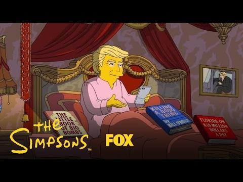 The Simpsons med nytt Trump-stikk