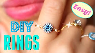 DIY Halo Rings & Channel Update/ Easy DIY Jewelry