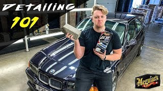 Claying Your Paint with Meguiar's Clay Kit - Meguiar's Detailing 101 – UK Edition